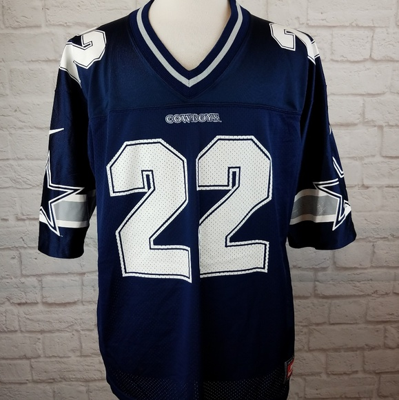 sports shoes 50651 d5274 1990's Dallas Cowboys Emmit Smith Football Jersey